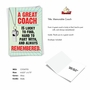 Hilarious Thank You Printed Greeting Card From NobleWorksCards.com - Memorable Coach image 2