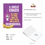 Hilarious Thank You Jumbo Printed Greeting Card From NobleWorksCards.com - Memorable Coach image 2