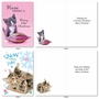 Funny Merry Christmas Card By Kelly Richardson From NobleWorksCards.com - Meowy Holidays image 1