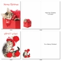 Funny Merry Christmas Card By Kelly Richardson From NobleWorksCards.com - Meowy Holidays image 3