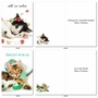 Funny Merry Christmas Card By Kelly Richardson From NobleWorksCards.com - Meowy Holidays image 5