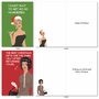 Funny Merry Christmas Card By Bluntcard From NobleWorksCards.com - Merry and Blunt image 3