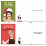 Funny Merry Christmas Card By Bluntcard From NobleWorksCards.com - Merry and Blunt image 5