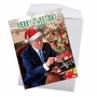 Hysterical Merry Christmas Jumbo Greeting Card From NobleWorksCards.com - Merry Tweeting image 2