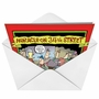 Hilarious Christmas Paper Card by Glenn McCoy from NobleWorksCards.com - Miracle on 34th Street image 2