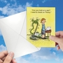 Humorous Mother's Day Paper Card By Tim Oliphant From NobleWorksCards.com - Missing Timmy image 3