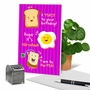 Funny Birthday Paper Greeting Card From NobleWorksCards.com - Mixed Puns image 6