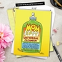 Humorous Mother's Day Jumbo Greeting Card by Daniel Collins from NobleWorksCards.com - Mom Spit image 6