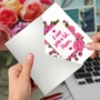 Humorous Mother's Day Paper Greeting Card From NobleWorksCards.com - Mom Debt image 3