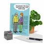 Humorous Birthday Card By Susan Camilleri Konar From NobleWorksCards.com - More Wine image 6