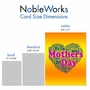 Creative Mother's Day Jumbo Printed Card From NobleWorksCards.com - Mother's Words image 5