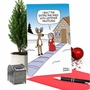 Hysterical Merry Christmas Printed Greeting Card By Maria Scrivan From NobleWorksCards.com - Mrs. Claus' She Shed image 5