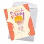 Funny Baby Jumbo Paper Greeting Card By Offensive+Delightful From NobleWorksCards.com - Nap Time image 2