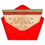 Hilarious Christmas Paper Greeting Card from NobleWorksCards.com - Naughty or Nice image 2