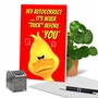 Humorous Birthday Paper Greeting Card From NobleWorksCards.com - Never Duck image 6