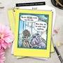 Funny Mother's Day Jumbo Printed Card by Dan Piraro from NobleWorksCards.com - Never Visit Website image 6