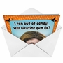 Hysterical Halloween Greeting Card from NobleWorksCards.com - Nicotine Gum image 2