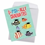 Funny Graduation Jumbo Paper Card From NobleWorksCards.com - No More School image 3