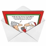 Hysterical Christmas Paper Greeting Card by Randy Glasbergen from NobleWorksCards.com - No No No image 2