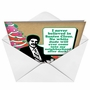 Humorous Christmas Greeting Card from NobleWorksCards.com - No White Dude image 2
