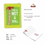 Humorous Birthday Paper Greeting Card From NobleWorksCards.com - Not A Drill image 2