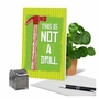 Humorous Birthday Paper Greeting Card From NobleWorksCards.com - Not A Drill image 6