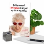 Hysterical Birthday Printed Greeting Card From NobleWorksCards.com - Not Hot Flashes image 6
