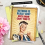 Hilarious Mother's Day Jumbo Paper Greeting Card from NobleWorksCards.com - Nothing Is Lost image 6