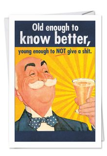 Old enough Card