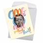 Hysterical Baby Jumbo Printed Card By Offensive+Delightful From NobleWorksCards.com - OMG A Baby image 3