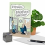 Hysterical Anniversary Printed Card By Randall McIlwaine From NobleWorksCards.com - On For Tomorrow image 6
