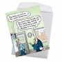 Funny New Job Jumbo Card By Randall McIlwaine From NobleWorksCards.com - On for Tomorrow image 3