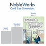 Funny New Job Jumbo Card By Randall McIlwaine From NobleWorksCards.com - On for Tomorrow image 5