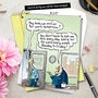 Funny New Job Jumbo Card By Randall McIlwaine From NobleWorksCards.com - On for Tomorrow image 6