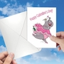 Funny Galentine's Day Paper Greeting Card By Jamie Charteris From NobleWorksCards.com - Only Screw image 3
