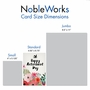 Creative Retirement Printed Card By Batya Sagy From NobleWorksCards.com - Optimisms image 5
