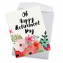 Stylish Retirement Jumbo Paper Greeting Card By Batya Sagy From NobleWorksCards.com - Optimisms image 3