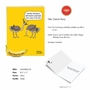 Hilarious Birthday Jumbo Printed Greeting Card By Maria Scrivan From NobleWorksCards.com - Ostrich Party image 2