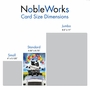 Stylish Graduation Paper Card From NobleWorksCards.com - Panther Mascot - 2019 image 4