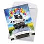 Creative Graduation Thank You Jumbo Printed Card From NobleWorksCards.com - Panther Mascot - 2019 image 2