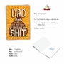 Hilarious Father's Day Printed Card From NobleWorksCards.com - Patient Dad image 2