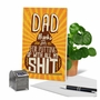 Hilarious Father's Day Printed Card From NobleWorksCards.com - Patient Dad image 6