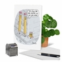 Funny Birthday Paper Card By Mike Shiell From NobleWorksCards.com - Pencil Shrinkage image 6