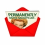 Humorous Christmas Greeting Card from NobleWorksCards.com - Permanent Naughty List image 2