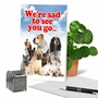 Hysterical Retirement Printed Card From NobleWorksCards.com - Pet Coworkers image 6