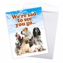 Funny Retirement Jumbo Card From NobleWorksCards.com - Pet Coworkers image 3