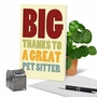 Humorous Thank You Paper Greeting Card From NobleWorksCards.com - Pet Sitter image 6