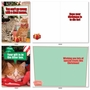 Funny Merry Christmas Paper Greeting Card From NobleWorksCards.com - PetiGreet Cats Christmas image 5