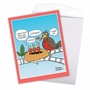 Hysterical Mother's Day Jumbo Printed Greeting Card By Maria Scrivan From NobleWorksCards.com - Picky Eaters image 2