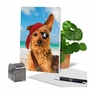 Hysterical Birthday Greeting Card By Michael Quackenbush From NobleWorksCards.com - Pirate Dog image 6